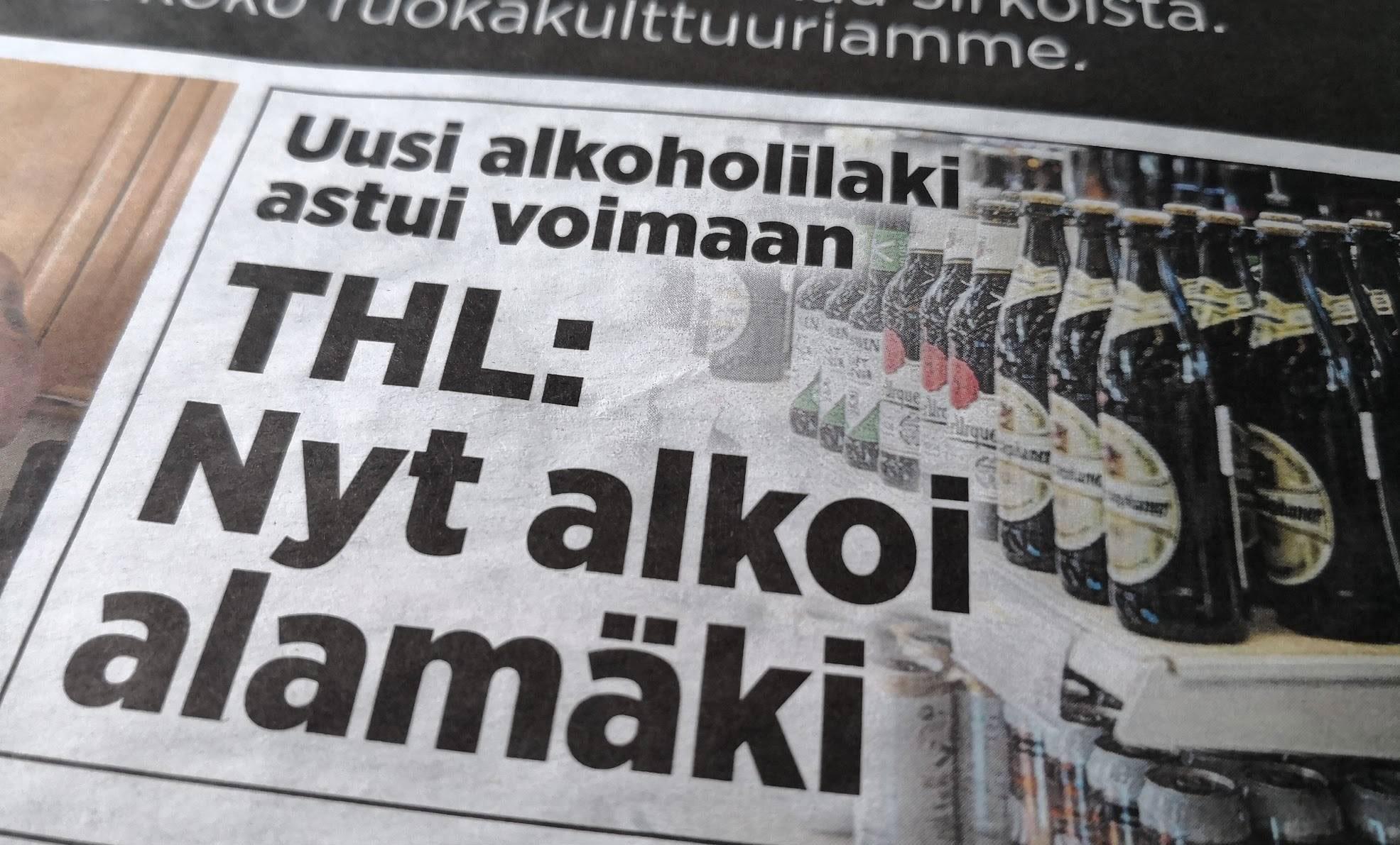 Alkoholilaki 2018