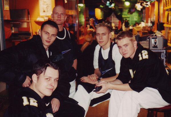 7. taivas Jyrkissä 1996.