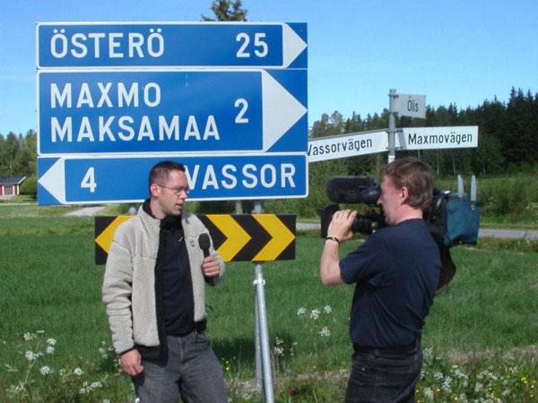 TV2 Matkalla Suomessa -kuvauksissa 2004.